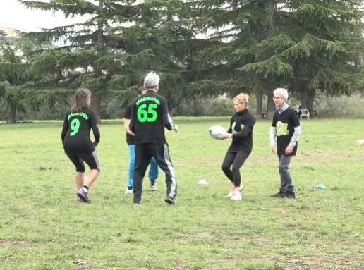 Bradirapidi: parky touch rugby